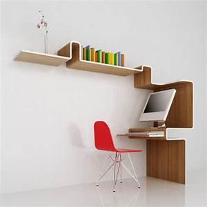 Meuble Bureau Design : meuble bureau k workstation par misosoup design blog d co design ~ Teatrodelosmanantiales.com Idées de Décoration