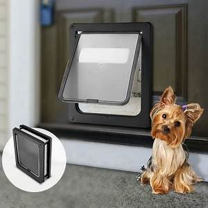 large size 2 way lockable pet security door crazy sales With secure large dog door