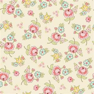 Vintage Floral Fabric Patterns