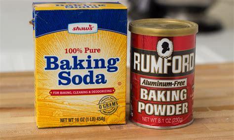 baking powder vs baking soda baking soda vs baking powder cooking tips noshon it