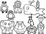 Farm Coloring Animal Wecoloringpage sketch template
