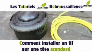 Tete De Debroussailleuse Stihl : tutoriel d broussailleuse n 3 comment installer un fil ~ Dailycaller-alerts.com Idées de Décoration