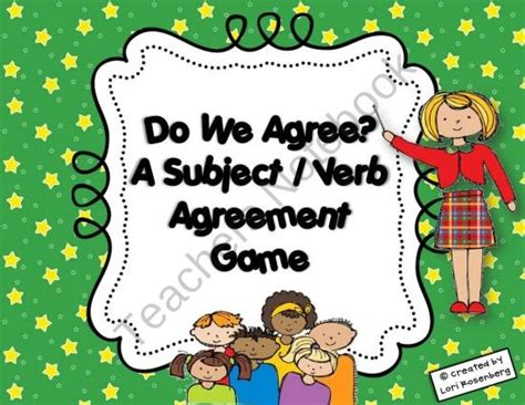 images  subject verb agreement  pinterest