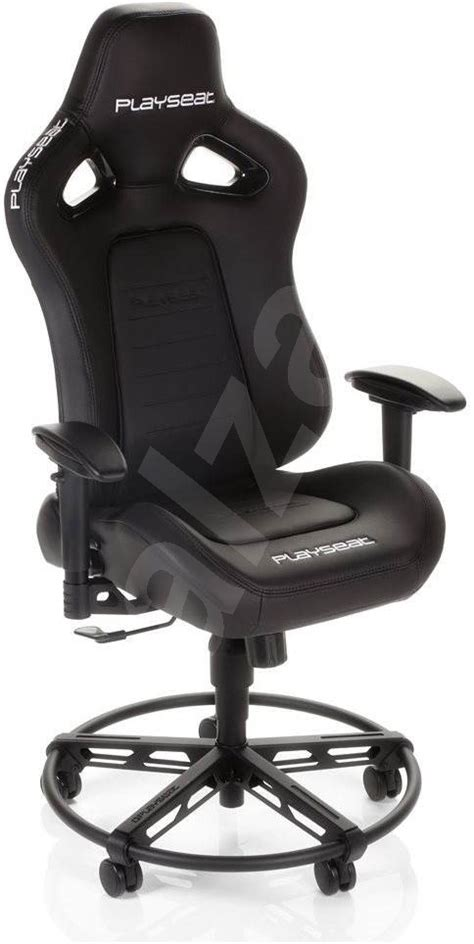 Playseat Office Chair Black playseat office chair l33t black gaming chair alzashop