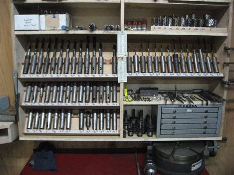 storage solution  large drill bits  reamers