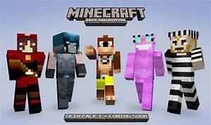 More Minecraft Xbox 360 Edition Skins Revealed