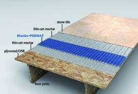 uncoupling membranes ceramic tile underlayment blanke