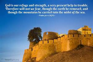 The Daily Strength Psalm 46 1 2 Kjv Today 39 S Verse For Sunday March 22 2015