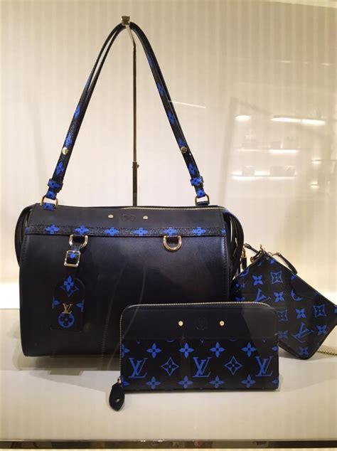 reviewing louis vuitton blue monogram canvas bag collection blog   designer bags review