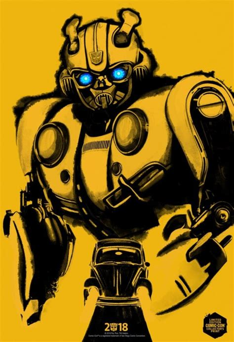 Transformers Spinoff Bumblebee Gets A Comiccon Poster And