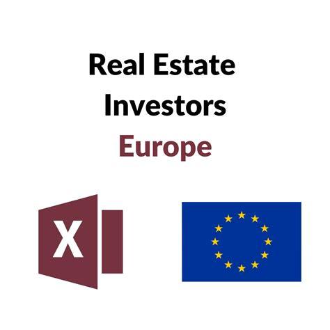 estate europe investors european list buyers largest