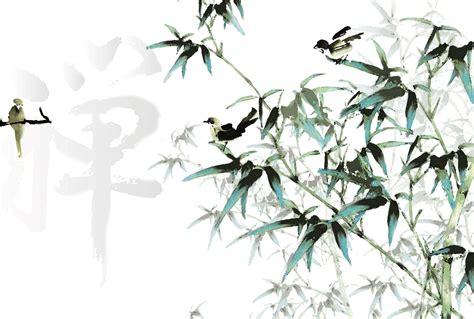 chambre japonais poster calligraphie telle une peinture chinoise