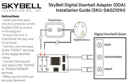 digital doorbell adapter    install