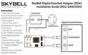Skybell Digital Doorbell Adapter