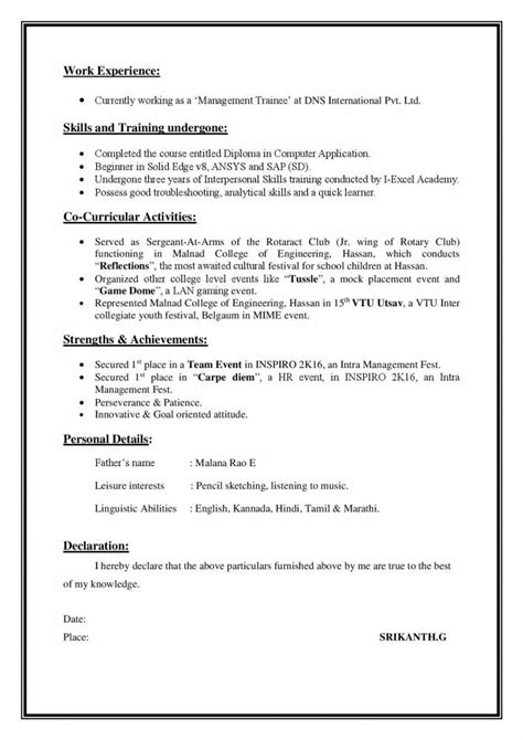 5 marketing executive resume sles exles download now resume sles projects