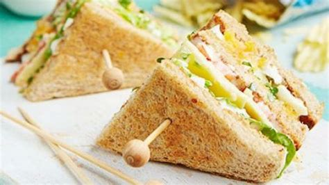 sarapan simple  sandwich inkigayo sandwichnya