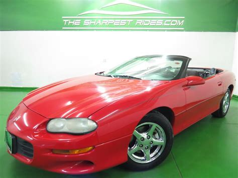 2001 Chevrolet Camaro Convertible 2 Door For Sale 23 Used