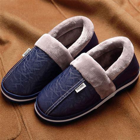 house slippers  men  slip sturdy sole  memory