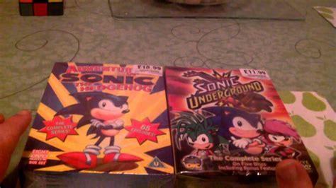 dvd box set adventures  sonic  hedgehog  sonic