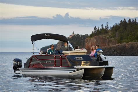 Used Pontoon Boats Premier by Premier Revs Pontoon Design With Velocity Newswire