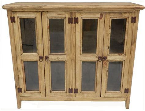 rustic curio cabinets rustic four door curio cabinet rustic curio cabinet 4