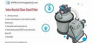 Intex Krystal Clear Sand Filter Pump  16