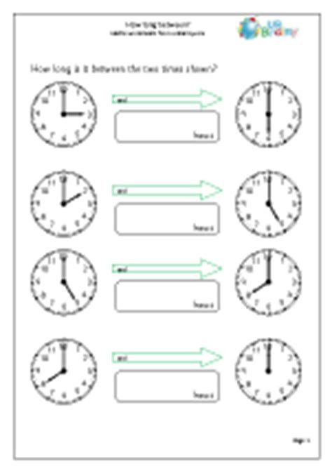 time maths worksheets for year 2 age 6 7