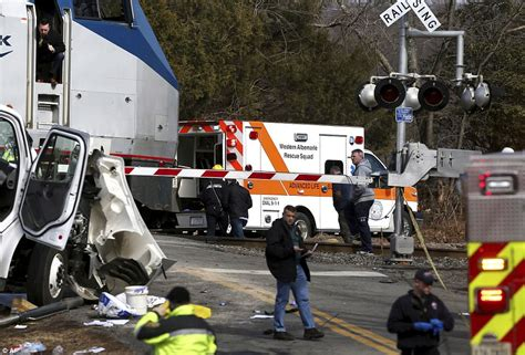 Train Hauling Republicans To West Virginia Hits Truck