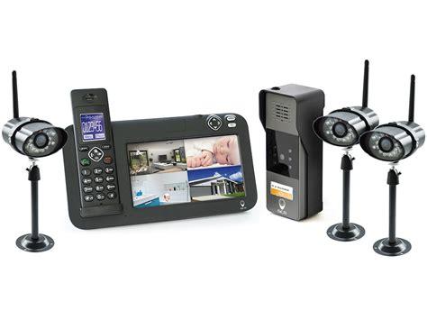 interphone exterieur sans fil kit interphone vid 233 o sans fil dect vid 233 osurveillance 1 platine 3 233 ras scs la boutique