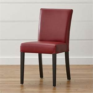 About A Chair : lowe red leather dining chair reviews crate and barrel ~ A.2002-acura-tl-radio.info Haus und Dekorationen