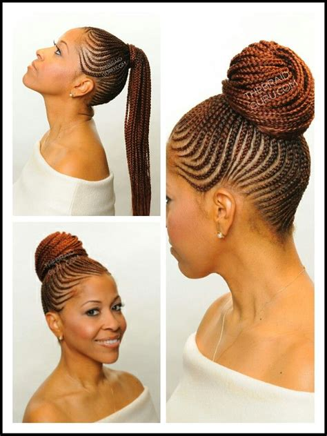 Cornrow Ponytail Hairstyles For by Cornrow Ponytail Hair Style Braids Cornrow