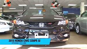2015 Honda Civic Coupe Si Manual For Sale