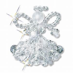 Perlen Engel Selber Basteln : 6 kristallengel im set 5 cm ~ Lizthompson.info Haus und Dekorationen