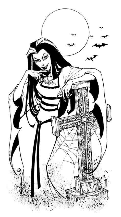 Lily Munster by kotsu-direngrey.deviantart.com on