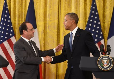 Obama Swear In A Look Ath by Obama Hollande Swear Unity Against Is Leave Putin In The