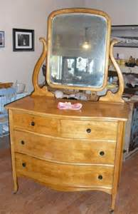 Antique Birdseye Maple Dresser With Mirror by Birds Eye Maple Lyre Swing Mirror Dresser