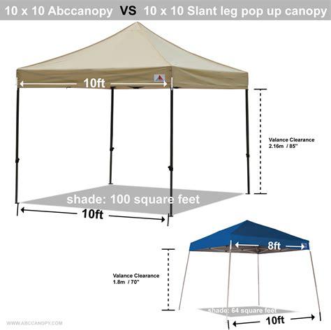 todays deal abccanopy  deluxe beige package tent  roller bag abccanopy