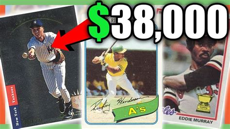 rare baseball cards worth money  expensive cards