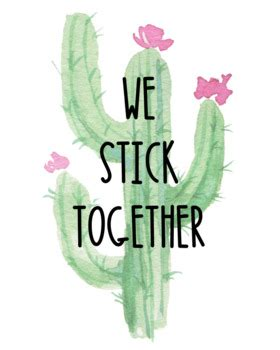 classroom decor cactus succulents tpt