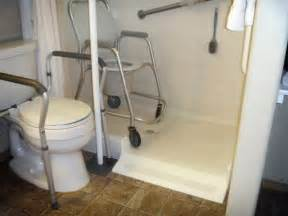 Convert Shower To Tub Shower Combo by Roll In Shower Conversion Kit By Ameriglide