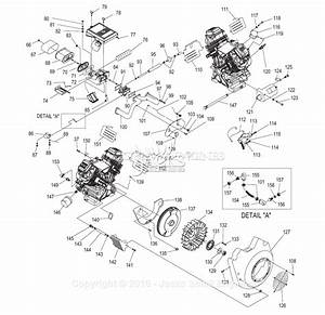 Generac 4451 Parts Diagram For Engine Gt990  760 Ii