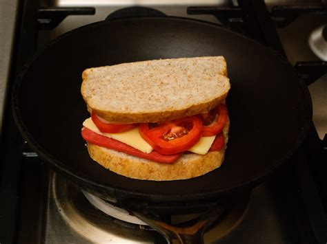 healthy sandwich  steps  pictures