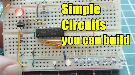 Simple Electronic Circuits You Can Build Youtube