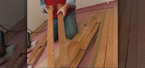 how to lay a solid wood floor how to install a solid hardwood floor with lowe s 171 construction repair