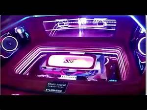 Car Interior Lighting Sound Active Million Color LED Light