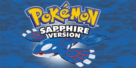 Pokmon Sapphire Game Boy Advance Games Nintendo
