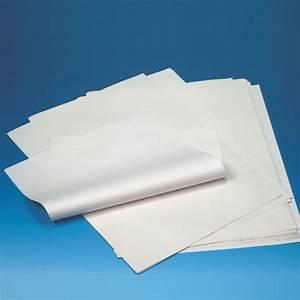Inpakpapier, cellulose 50 cm x 37,5 cm wit 1/4 vellen