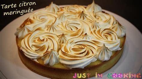 recette de la tarte au citron meringuee youtube