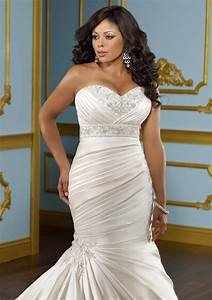 plus size wedding dresses beautiful looks for women with With beautiful plus size wedding dresses