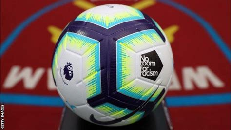 Premier League: Players to wear 'No Room For Racism' badge ...